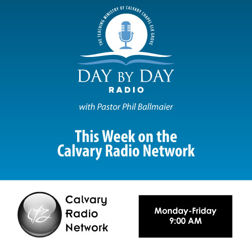 This Week on Calvary Radio